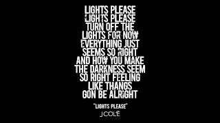 J.Cole - Lights Please Clean Version HD CDQ with lyrics & download link
