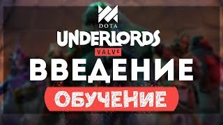Введение в Dota Underlords: Обучение