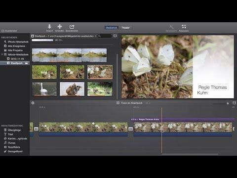 Filme schneiden und Übergänge erstellen - Das große Mac-Training