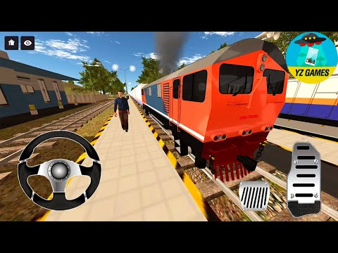 IDBS Indonesia Train Simulator - Real Train Driver 3D - Android GamePlay