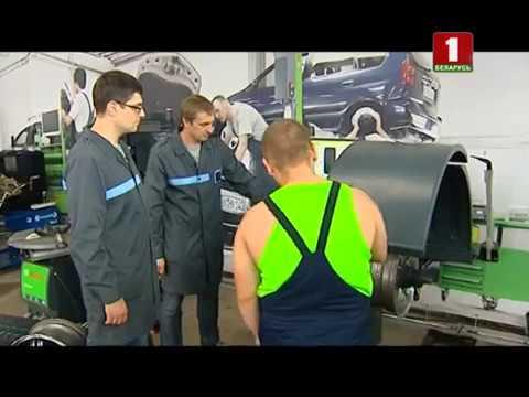 Установка новых шин и балансировка колес со специалистом автосервиса Bosch.. Коробка передач