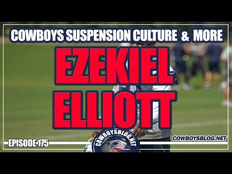 Ezekiel Elliott and Cowboys Suspension Culture