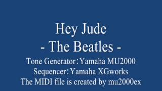 Hey Jude - The Beatles cover / MIDI version