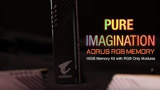 AORUS RGB 16GB DDR4 Memory Kit Trailer