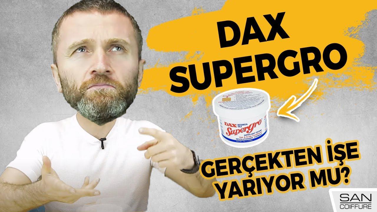 DAX SUPERGRO İNCELEMESİ! (Saç uzatan, saçı besleyen bir ürün mü?)