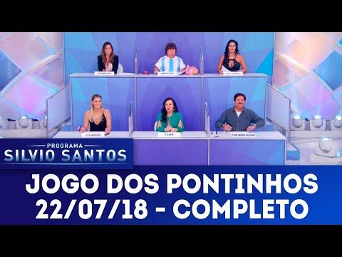 Jogo dos Pontinhos - Completo   Programa Silvio Santos (22/07/18)