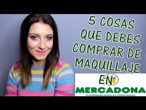 5 cosas que debes comprar en MERCADONA (MAQUILLAJE)| ISABESTREVIEWS