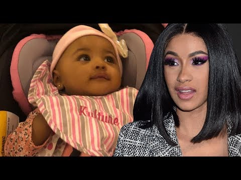 Cardi B Shared 1st Baby Kulture Photo! Woman Linked To Offset Cheating APOLOGIZES To Cardi B!