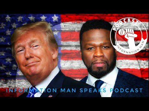 50 cent Said He Don't Care If Trump Doesn't Like Black People (Endorses Trump)