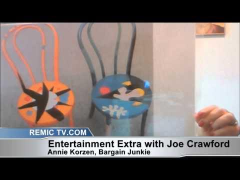 Annie Korzen Author Bargain Junkie on WWW.remictv.com with Joe Crawford