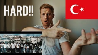 (HARD!!) Velet - Uyan Feat. Canbay & Wolker (Official Video) // TURKISH RAP REACTION