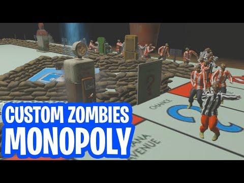 ZOMBIES OP HET MONOPOLY BORD! (COD: Black Ops 3 Custom Zombies)
