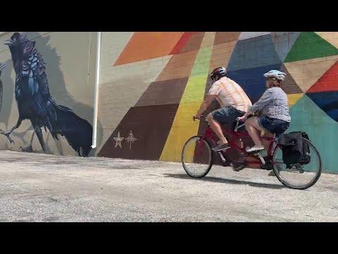 New Week. New You: Explore SA street art by bike