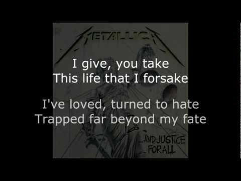 Metallica - Harvester Of Sorrow Lyrics (HD)