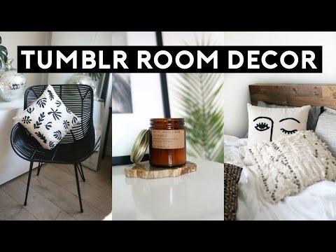 Tumblr Room Decor HAUL! 2017 Inexpensive Room Makeover!