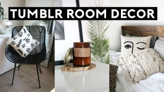 Tumblr Room Decor HAUL! 2017 Inexpensive Room Makeover!