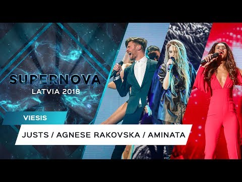 SUPERNOVA 2018 OPENING: Justs, Agnese Rakovska, Aminata Mp3