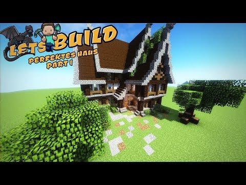 PERFEKTES HAUS In Minecraft Bauen   Tutorial