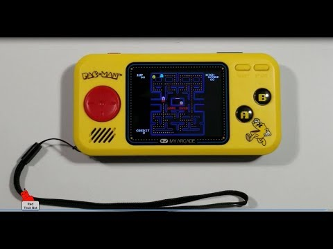 My Arcade Pac-Man Pocket Player Review And Gameplay (2018)