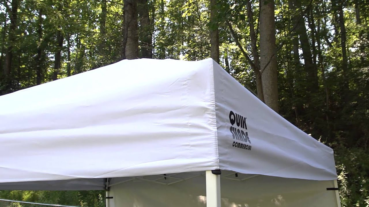 & Bravo Sports | Quik Shade Commercial C100 Instant Canopy - YouTube