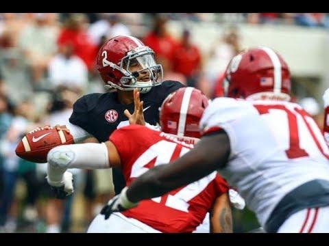 2018 Alabama Spring Game (Full Game Highlights)