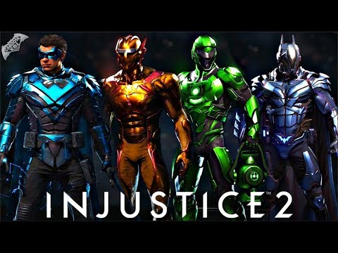 Injustice 2 - EPIC METAL SHADERS SHOWCASE!