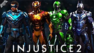 Injustice 2 - EPIC METAL SHADERS SHOWCASE!