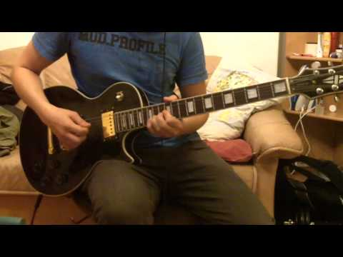 Hanoi Rocks - A Day Late A Dollar Short guitar cover (HQ)