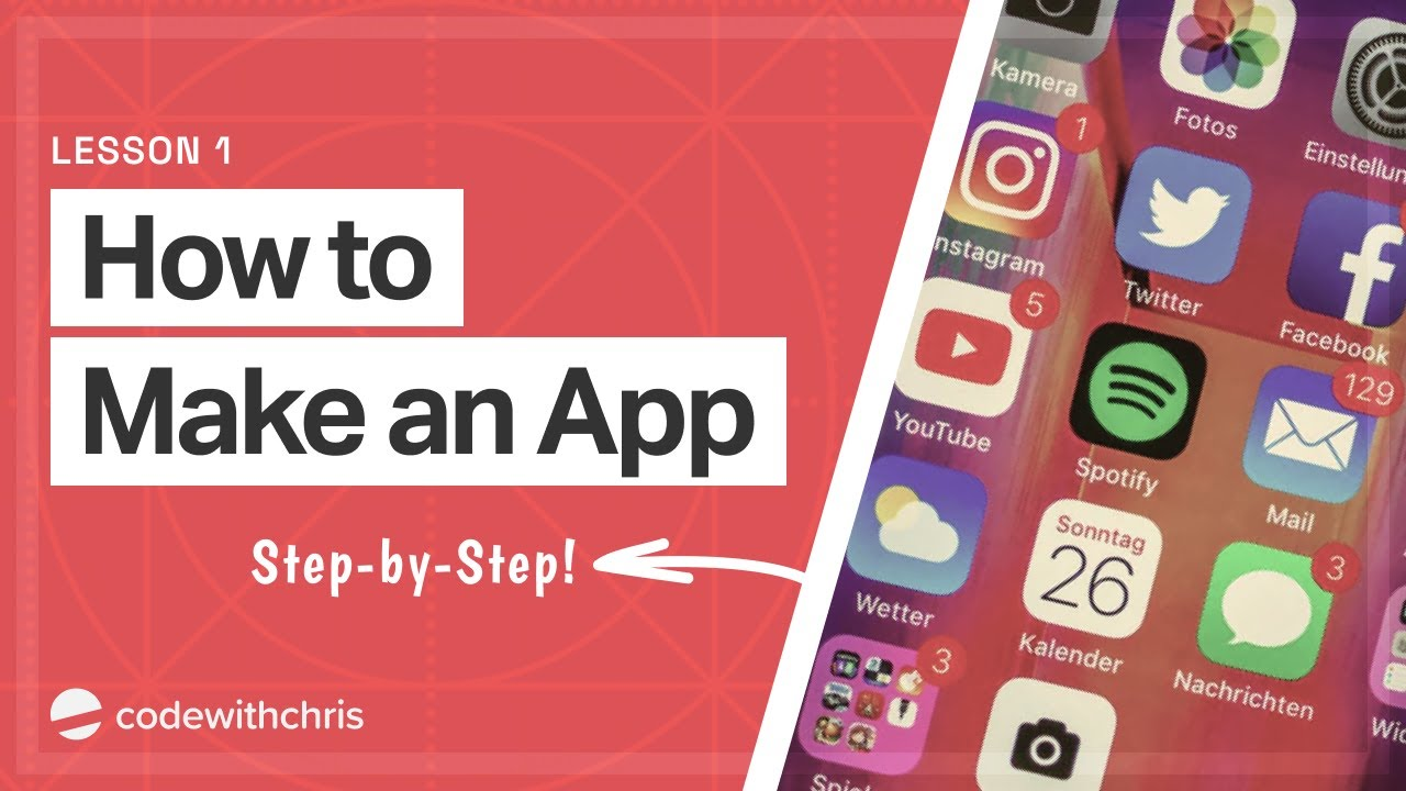 How to Make an App for Beginners (2020) - Lesson 1