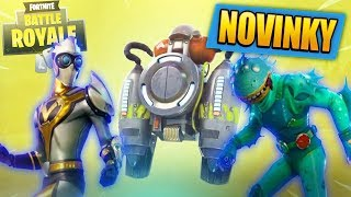 Jetpack! New epic and legendary Skins and dances | Fortnite Battle Royale News #5 [EN/English]