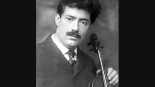 "Fritz Kreisler plays Kreisler ""Liebesleid"" in 1930 and 1942"