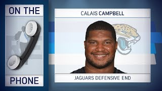 Jaguars DE Calais Campbell Talks Patriots AFC Championship Match Up & More w/Rich Eisen | 1/16/18
