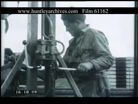 Building Railways France, 1950s - Film 61162