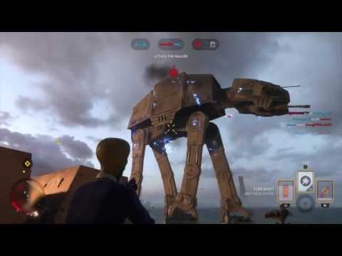 AT-AT Destroyed