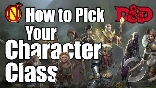 5E D&D How to Pick your Character Class