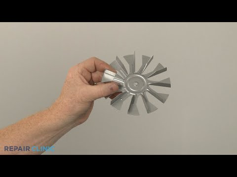 Convection Fan Blade - Kitchenaid Double Oven Gas Range (Model #KFGD500ESS04)