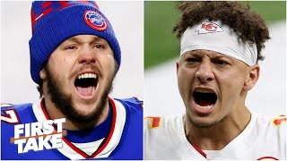 Is Josh Allen or Patrick Mahomes more valuable to his team? | First Take