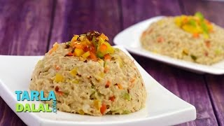Brown Rice Risotto (Zero Oil & Healthy Heart Recipe) by Tarla Dalal