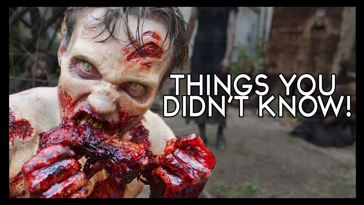 7 Walking Dead Things You (Probably) Didn't Know! - YouTube
