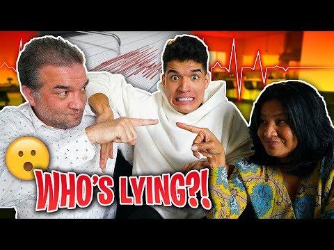 Lie Detector Test on MY PARENTS!