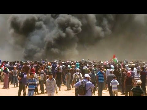Gaza: Israeli Soldiers Kill 30+ Palestinians Protesting Nonviolently as U.S. Opens Jerusalem Embassy