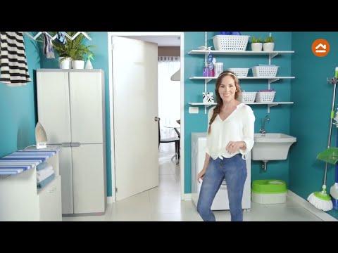 Mira c mo tener una lavander a linda y bien organizada for Ideas para lavaderos de casas