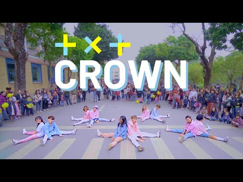 [KPOP IN PUBLIC CHALLENGE] TXT (투모로우바이투게더) 'CROWN' Dance Cover By C.A.C From Vietnam