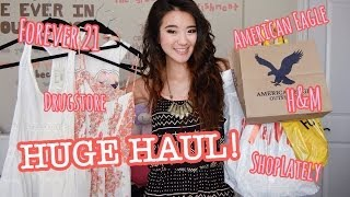 HUGE HAUL: Forever 21, H&M, ShopLately, & more! Thumbnail