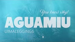 Aguamiu uima-asu uutuus - uimaleggings