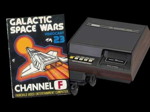 VC 23a - Galactic Space Wars - (1980) - Channel F - gameplay HD