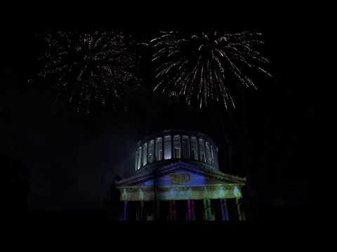 The WV Sesquicentennial 3D Movie and Fireworks