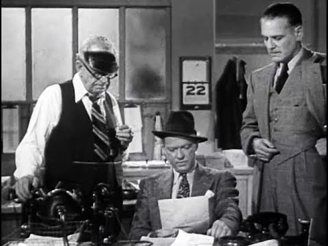 Film Noir Crime Action Drama Movie - The Pay Off (1942)