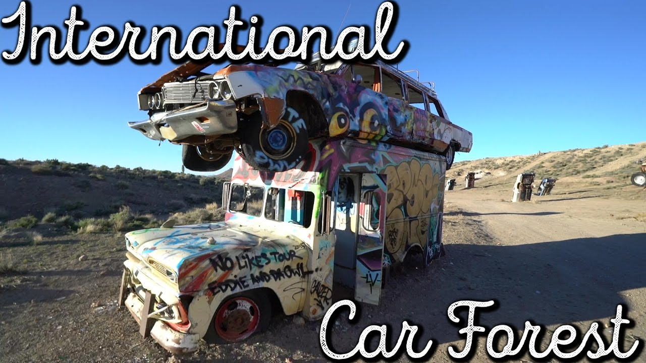 International Car Forest Goldfield Nevada Vlog 204 Youtube