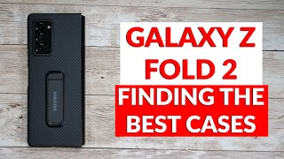 Samsung Galaxy Z Fold 2 - The Best Cases You Should Buy